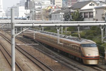 2016年3月6日、目白、東武106Fの「スペーシアきぬがわ 2号」1082M。