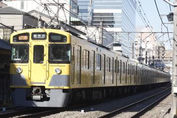 2016年3月2日、高田馬場~下落合、2457F+2057Fの2801レ。