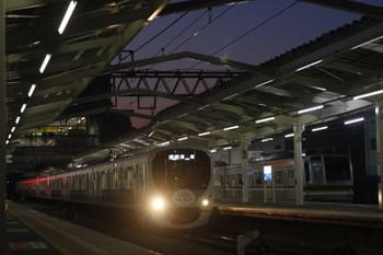 2016年3月4日、清瀬、38116Fの5107レ。右のメトロ車の位置に通常いるのは東急8連です。