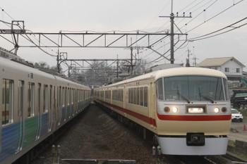 2016年3月6日 17時15分頃、元加治、右が10105Fの上り臨時列車。