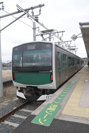 2016年3月13日、烏山、EV-E301-1ほか。