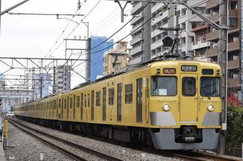 2016年3月28日、高田馬場~下落合、2403F+2083Fの2642レ。