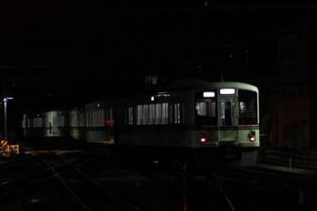 2016年3月26日 19時37分頃、飯能、1番ホームから発車した4011F+4015Fの下り回送列車。