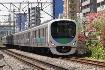2016年4月20日、高田馬場~下落合、38117Fの5822レ。