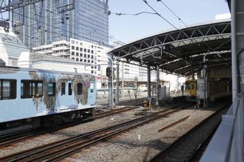 2016年4月29日 10時46分頃、池袋、到着する4009Fの上り回送列車。