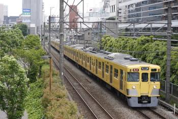 2016年5月16日、高田馬場~下落合、2411F+2519F+2511Fの2643レ。