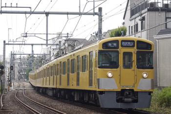 2016年5月26日、池袋~椎名町、2089Fの西武秩父ゆき5205レ。