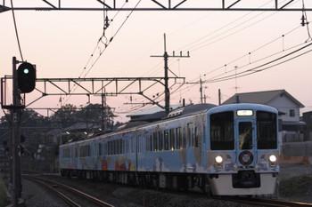 2016年5月28日 18時54分頃、元加治、4009Fの上り列車。