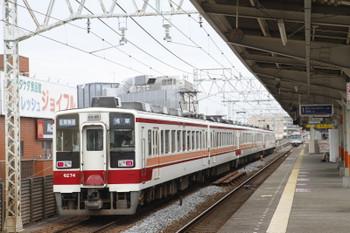 2016年6月19日 14時10分頃、五反野、浅草ゆき区間快速列車。