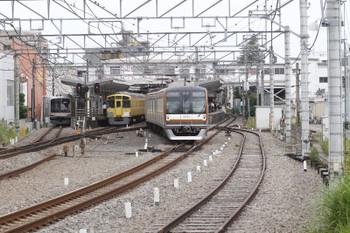 2016年6月1日7時27分ころ、清瀬、2番ホームからメトロ10003Fの6406レが発車。
