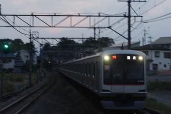2016年6月20日 18時58分頃、元加治、25S運用代走の東急4002Fの上り回送。
