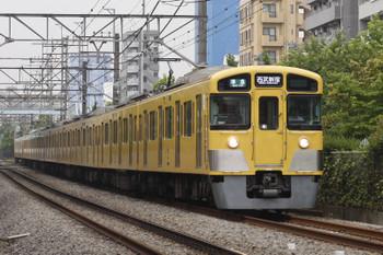 2016年6月29日、高田馬場~下落合、2083F+2407Fの4608レ。