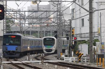 2016年6月29日、高田馬場~下落合、20107Fの4104レと30105Fの4105レ。