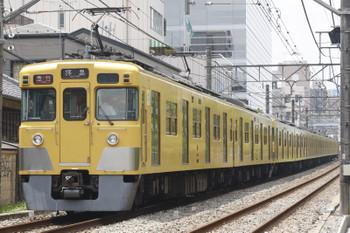 2016年7月14日、高田馬場~下落合、2407F+2003Fの2323レ。