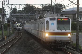 2016年7月18日、元加治、メトロ7032Fの3704レ。