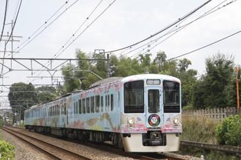 2016年7月18日 12時11分、元加治~飯能、4009F(52席)の下り列車。