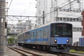 2016年7月20日、高田馬場〜椎名町、20105Fの2323レ。