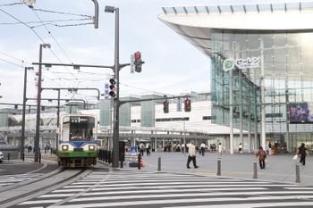 2016年7月11日 17時45分頃、福井駅、発車した普通 越前武生ゆき。