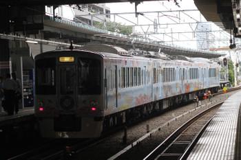 2016年7月23日 9時23分頃、保谷、3番ホームに停車中の4009Fの上り回送列車。