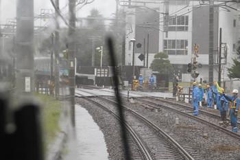2016年8月22日 14時16分頃、武蔵藤沢~稲荷山公園駅間、稲荷山公園駅へ向かう2131レの客室内から。