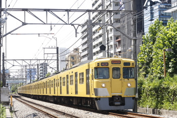 2016年8月2日、高田馬場~下落合、2027F+2407Fの5128レ。