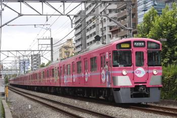 2016年8月8日、高田馬場~下落合、9101Fの2754レ。