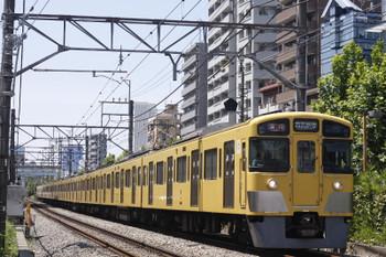 2016年8月9日、高田馬場~下落合、2065F+2409Fの2332レ。