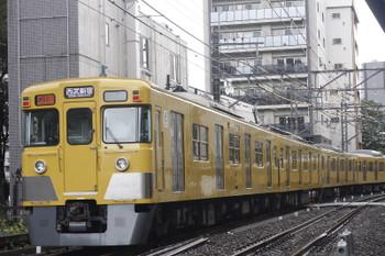 2016年9月7日、高田馬場~下落合、2405F+2067Fの2754レ。