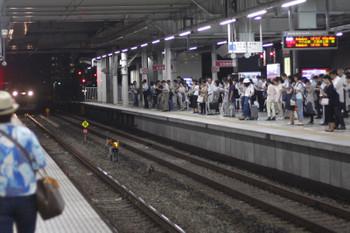 2016年8月18日 18時51分頃、所沢、飯能方から到着する10102Fの上り回送列車。