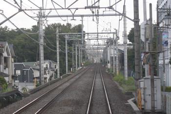 2016年8月26日、東久留米~清瀬、55km/h制限区間がある下り線。
