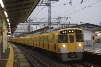 2016年8月30日、西所沢、到着する2461F+2063Fの5103レ。