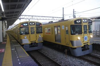 2016年9月2日、西所沢、9104Fの3102レと9105Fの5103レ。