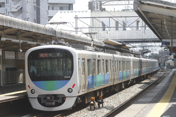 2016年9月10日、西所沢、32102F+38104Fの2132レ。