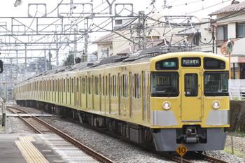 2016年9月11日、秋津、2465F+2091Fの4357レ。