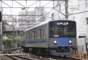 12016年9月16日、高田馬場~下落合、20155Fの5627レ。