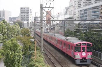 2016年9月27日、高田馬場~下落合、9101Fの2643レ。