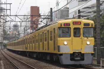 2016年10月5日、高田馬場~下落合、2413F+2095Fの2643レ。
