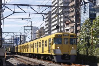 2016年10月6日、高田馬場~下落合、2007Fの5128レ。