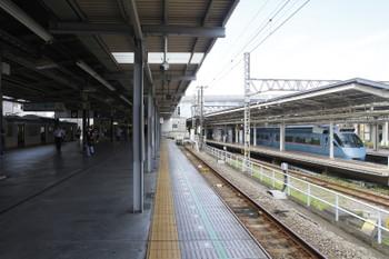 2016年7月31日10時ころ、海老名、相鉄のホームから。