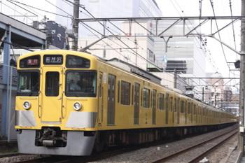 2016年10月14日、高田馬場~下落合、2531F+2523F+2417Fの2801レ。