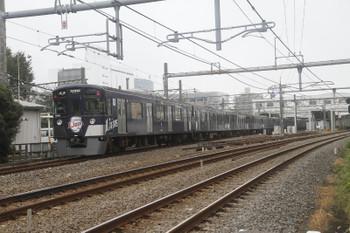 2016年9月18日 12時37分頃、所沢、本川越からやって来た9108Fの臨時各停・西武球場前ゆき。