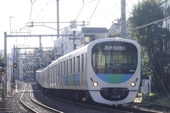 2016年10月24日、池袋~椎名町、38104Fの西武秩父ゆき5205レ。
