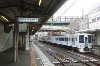 2016年9月18日 10時55分頃、中井、4009Fの下り列車。