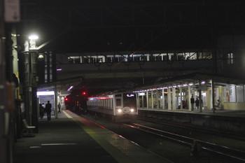 2016年11月4日 18時28分頃、仏子、3701レ(14M)で下った6157Fが回送で戻って来ました。すぐに上り方へ発車。