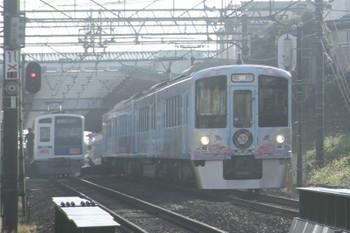 2016年11月3日 8時29分頃、秋津、4009Fの下り臨時列車。