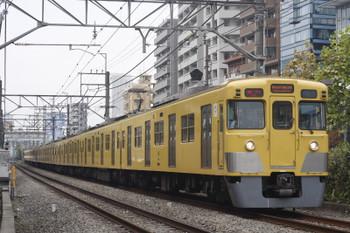 2016年11月14日、高田馬場~下落合、2021F+2531Fの2332レ。