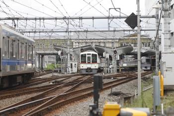 2016年9月24日 9時46分頃、飯能、2・3番ホームから発車した4023Fの臨時 高麗ゆきほか。