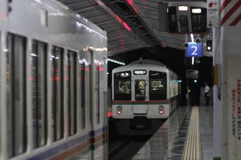 2016年9月25日 18時3分頃、飯能、秩父方の4011Fが5047レとなって発車。取り残された飯能方の4011Fは「回送」表示。