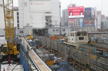 2016年11月19日 12時半ころ、渋谷~表参道、銀座線の工事現場。