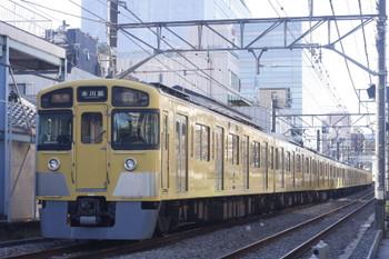 2016年12月2日、高田馬場~下落合、2517F+2509F+2409Fの2643レ。